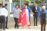 Nita Ambani, Mukesh Ambani at the launch of Reliance Foundations Jio Gardens and organises Young Champs Football match on 27th May 2015