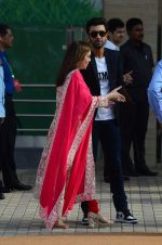 Nita Ambani, Ranbir Kapoor at the launch of Reliance Foundations Jio Gardens and organises Young Champs Football match on 27th May 2015
