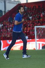 Ranbir Kapoor at the launch of Reliance Foundations Jio Gardens and organises Young Champs Football match on 27th May 2015