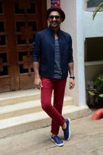Ranveer Singh at Dil Dhadakne Do interviews in Mumbai on 27th May 2015