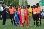 Sachin Tendulkar at the launch of Reliance Foundations Jio Gardens and organises Young Champs Football match on 27th May 2015