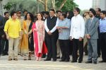 Sachin Tendulkar, Amitabh Bachchan, Nita Ambani, Mukesh Ambani at the launch of Reliance Foundations Jio Gardens and organises Young Champs Football match on 27th May 2015 (162)_5566e784b4cf2.JPG