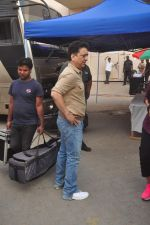 Sajid Nadiadwala at Fitoor on location in Mumbai on 27th May 2015