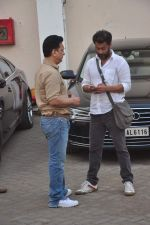 Sajid Nadiadwala, Abhishek Kapoor at Fitoor on location in Mumbai on 27th May 2015