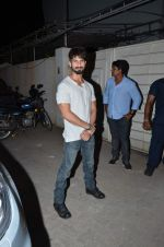 Shahid Kapoor at Tanu Weds Manu 2 success bash in Mumbai on 27th May 2015