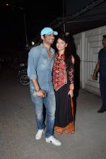 Sushant Singh Rajput, Ankita Lokhande at Tanu Weds Manu 2 success bash in Mumbai on 27th May 2015