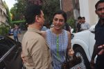 Tabu, Sajid Nadiadwala at Fitoor on location in Mumbai on 27th May 2015