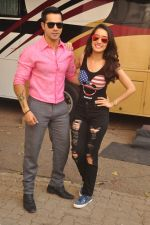Varun Dhawan and Shraddha Kapoor photoshoot for the film ABCD in Mumbai on 27th May 2015