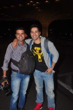 Varun Dhawan snapped at Airport on 27th May 2015