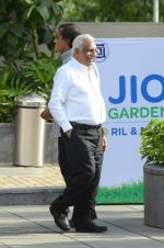 at the launch of Reliance Foundations Jio Gardens and organises Young Champs Football match on 27th May 2015
