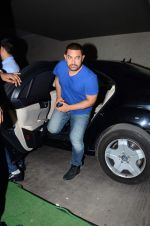 Aamir Khan at Dil Dhadakne Do screening in Mumbai on 28th May 2015