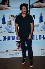 Anil Kapoor at Dil Dhadakne Do screening in Mumbai on 28th May 2015