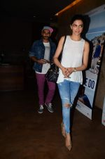Deepika Padukone, Ranveer Singh at Dil Dhadakne Do screening in Mumbai on 28th May 2015