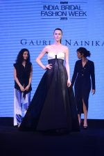 Model walks for bmw india bridal week preview in delhi on 28th May 2015