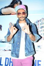 Ranveer Singh at Dil Dhadakne Do screening in Mumbai on 28th May 2015