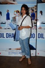 Shefali Shah at Dil Dhadakne Do screening in Mumbai on 28th May 2015