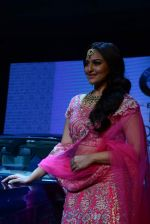 Sonakshi Sinha walks for bmw india bridal week preview in delhi on 28th May 2015