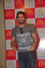 Ayushmann Khurrana and Ronald McDonald celebrate No TV Day with children from Catherine of Sienna School and Orphanage in Mumbai on 29th May 2015