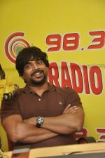 Madhavan at Radio Mirchi studio celebrating the success of Tanu Weds Manu Returns