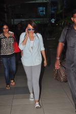 Sonakshi Sinha snapped as she returns from BMW India Bridal Week on 29th May 2015