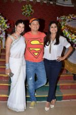 Swapnil Joshi, Sai Tamhankar and Tejaswini Pandit On location of marathi film Tu Hi Re on 30th May 2015 (34)_556aed4f6c987.JPG