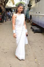 Tejaswini Pandit On location of marathi film Tu Hi Re on 30th May 2015 (27)_556aed5320893.JPG