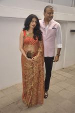 Bhagyashree at Nishka and Dhruv_s wedding bash in Mumbai on 31st May 2015 (223)_556c4f8f59320.JPG