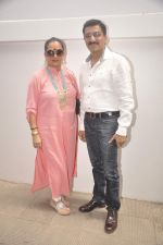 Bharat and Dorris at Nishka and Dhruv_s wedding bash in Mumbai on 31st May 2015 (63)_556c4fde78897.JPG