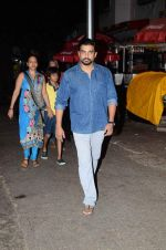 Madhavan with his family at Siddhivinayak on the occasion of his bday on 1st June 2015