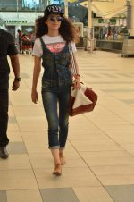 Kangana Ranaut snapped in Mumbai Airport on 1st June 2015