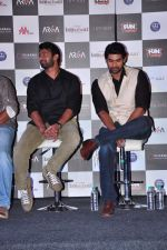 Rana Daggubati, Prabhas at Bahubhali trailor launch in Mumbai on 1st June 2015 (100)_556d57d12d7f1.JPG