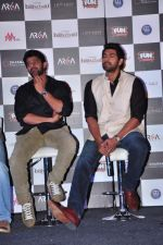 Rana Daggubati, Prabhas at Bahubhali trailor launch in Mumbai on 1st June 2015 (94)_556d57cea16bf.JPG