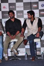 Rana Daggubati, Prabhas at Bahubhali trailor launch in Mumbai on 1st June 2015 (98)_556d57d047b41.JPG