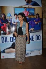 Geeta Basra at Dil Dhadakne Do screening in Mumbai on 2nd June 2015