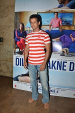 Sharman Joshi at Dil Dhadakne Do screening in Mumbai on 2nd June 2015