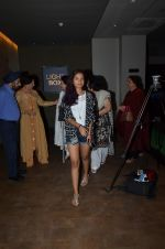 at Dil Dhadakne Do screening in Mumbai on 2nd June 2015