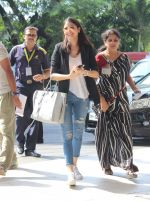 Anushka Sharma snapped at airport in Mumbai on 3rd June 2015