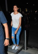 Deepika Padukone snapped at airport in Mumbai on 3rd June 2015