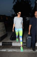 Deepika Padukone snapped at domestic airport on 3rd June 2015