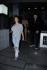 Karan johar and Alia bhatt snapped at Hakkassan in Mumbai on 3rd June 2015