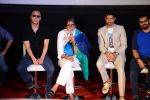 Vidhu Vinod Chopra, Amitabh Bachchan, Farhan Akhtar at Wazir Trailer Launch at PVR juhu on 3rd June 2015 (12)_556fe99b9472c.JPG