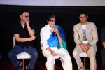 Vidhu Vinod Chopra, Amitabh Bachchan, Farhan Akhtar at Wazir Trailer Launch at PVR juhu on 3rd June 2015 (14)_556fe99c6dbe2.JPG