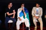 Vidhu Vinod Chopra, Amitabh Bachchan, Farhan Akhtar at Wazir Trailer Launch at PVR juhu on 3rd June 2015 (47)_556fe9a03c4f4.JPG