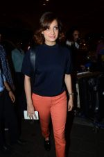 Dia Mirza leave for IIFA on 4th June 2015
