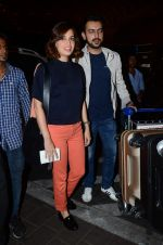 Dia Mirza, Sahil Sangha leave for IIFA on 4th June 2015