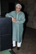 Javed Akhtar at lightbox for Dil Dhadakne Do Screening in Mumbai on 4th June 2015