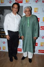 Javed Akhtar at the Musical evening dedicated to legendary Music Director N Datta in Ravindra Natya Mandir on 4th June 2015