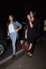 Jhanvi Kapoor leave for IIFA on 4th June 2015