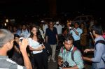 Lisa Haydon leave for IIFA on 4th June 2015