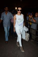 Malaika Arora Khan leave for IIFA on 4th June 2015